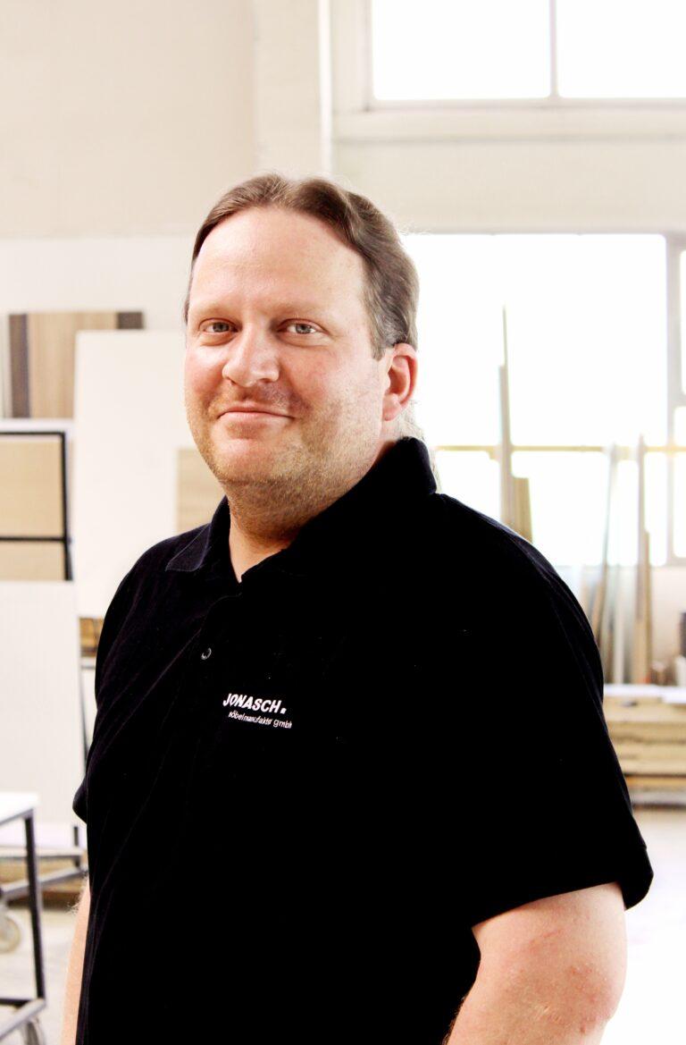 Alexander Jonasch, Geschäftsführer der JONASCH möbelmanufaktur gmbh